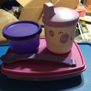 BN Tupperware First Start Feeding Set